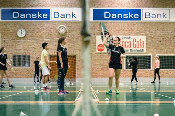 Badmintontræner