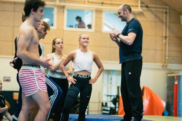 Gymnastiktræner
